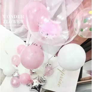Surprise balloon gift box