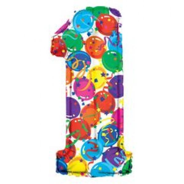 氣球飾帶 - 1字