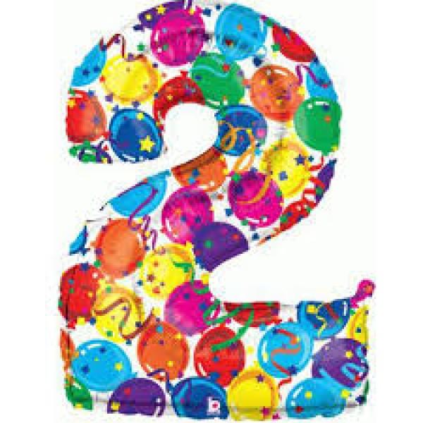 氣球飾帶 - 2字
