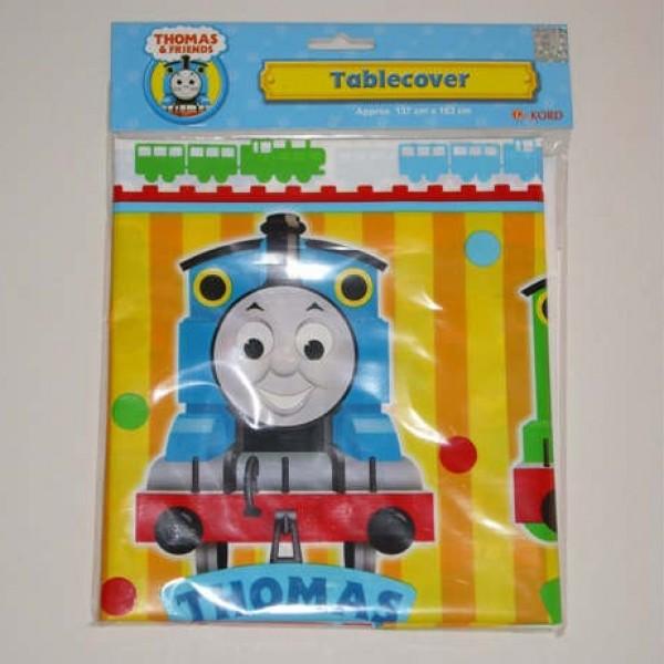 Thomas小火車檯布